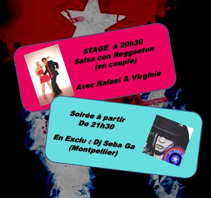 Soirée Salsa avec Stage Salsa con Reggaeton
