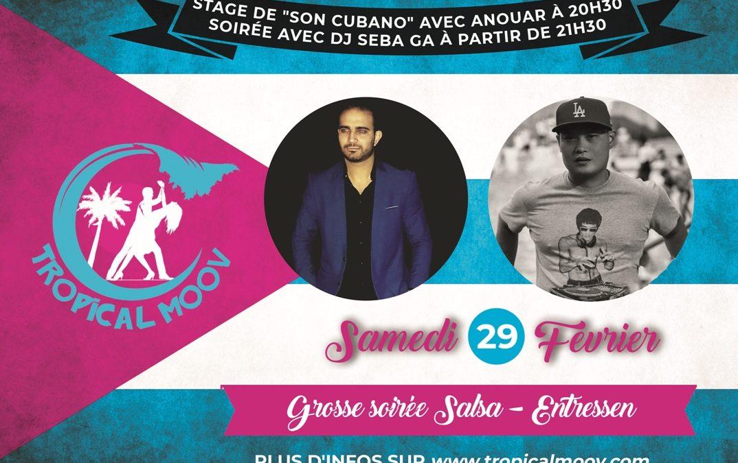 Stage de Son Cubano avec Anouar & Soirée avec DJ Seba Ga